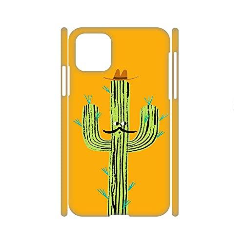 Hermosura Diseño Cactus para Niños Compatible para Apple 5.4Inch iPhone 12 Mini Conchas Rígidas De Plástico Rígido