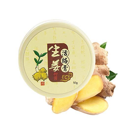 Jengibre chino analgésico crema 50g adecuado para la artritis reumatoide/dolor/alivio de dolor de espalda analgésico bálsamo ungüento Yiitay