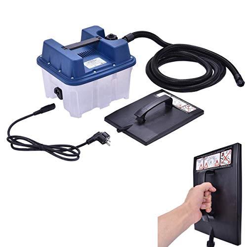 RELAX4LIFE Dampftapetenablöser, 2200 Watt, 4,5 L Wassertank, Tapetenentferner Maschine, Dampfzeit max. 90 min, Elektrischer Tapetenentferner mit Sicherheitsüberdruckventil, Dampfplatte, 3 m Schlauch