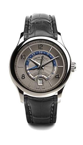 Armand Nicolet M02-4 - Orologio automatico GMT in acciaio INOX...