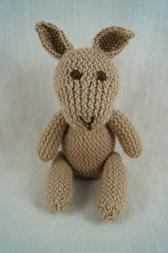lapin lapin peluche tricoté à la main crochet photo prop peluche à la main Waldorf