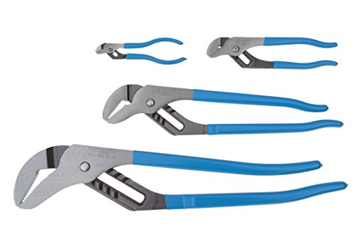 Channellock PC-1 Pit Crew's Tongue and Groove Plier Set: 424, 426, 440, 460, 4-Piece