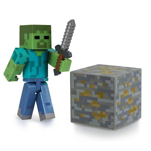 Minecraft Core Zombie Action Figure with Accessory [Holiday Gifts]