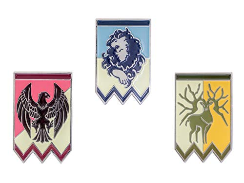 Mesky Fire Emblem Three Houses Protagonist Distintivo Badge in Lega di Zinco Cosplay Costume Brooches Pins Spille Accessorio Gioco Anime per Unsiex Fans