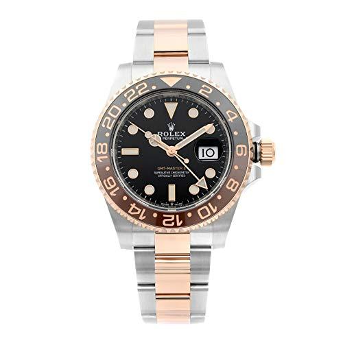 Rolex - 126711BKSO, Orologio automatico da uomo, modello GMT-Master II, in acciaio e oro rosa (Everose) 18 ct