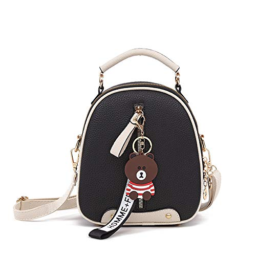 Hanggg Zaino borsa borsetta moda zaino femminile tracolla versatile straniera Borsa messenger