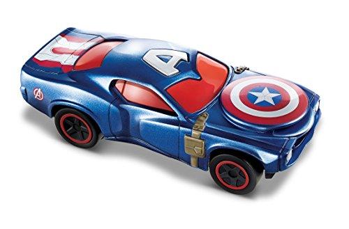 Hot Wheels CAptain America Civil War Deluxe Vehicle - Captain America