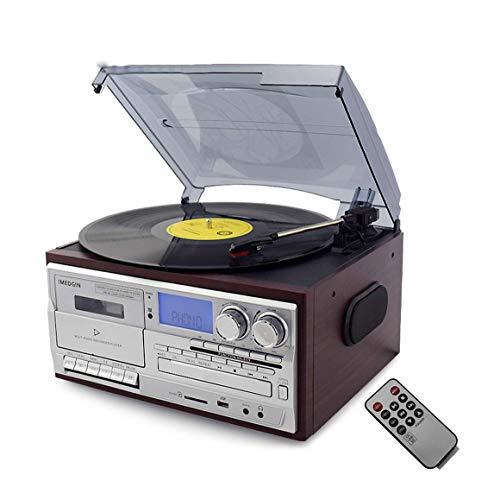 CJVJKN Record Player Turntable