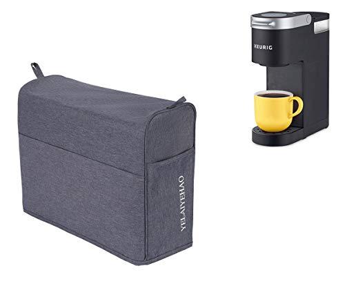 YELAIYEHAO Single Serve Coffee Makers Cover for Keurig Coffee Maker K-Mini (grey, 12'X5'X12.5')