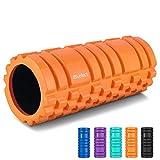HBselect Rullo Massaggio Muscolare Resistente Foam Roller in Schiuma Miofasciale Allevia Affaticamento Massaggiatore Ortopedico Ergonomico Ideale per Crossfit, Stretching, Yoga, Pilates, Fisioterapia