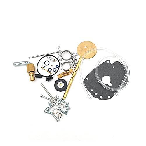 Kit de reparación de carburador apto para S&S Master Rebuild Kit para Super E Carburador Rebuild Kit