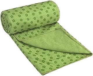"Wildwave Yoga Mat Towel-Microfiber Hot Yoga Towel-Non Slip Sweat Absorbent Super Soft 24"" x 72"""