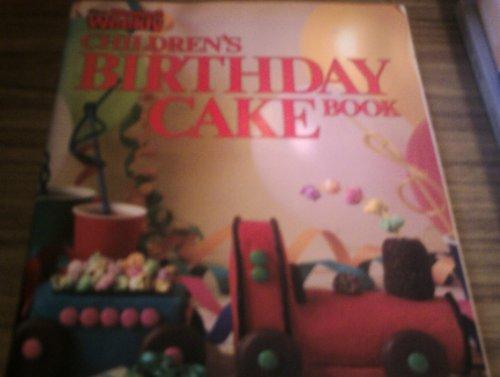 Children's Birthday Cake Book (Australian Women's Weekly)