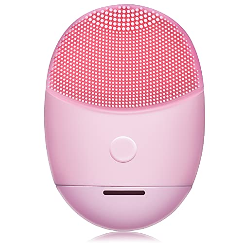 Facial Cleansing Brush, Gugusure Rechargeable Spin Face Brush Set with 5 Speed Setting, Complete Face Spy System for Exfoliating Deep Cleansing, Face Scrubber Brush for Removing Blackhead