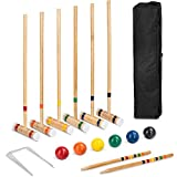 Best Croquet Sets - Best Choice Products 6-Player 32in Wood Croquet Game Review