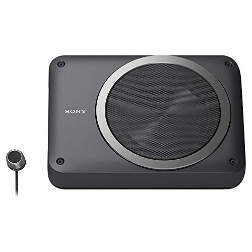 Sony XS-AW8 160-Watts RMS Underseat 8-inch Car Subwoofer with Inbuilt Amplifier (Black)