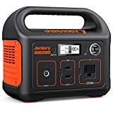 Jackery Portable Power Station Explorer 240, 240Wh Backup Lithium Battery, 110V/200W Pure Sine Wave AC Outlet, Solar Generator (Solar Panel Not Included) for Outdoors Camping Travel Hunting