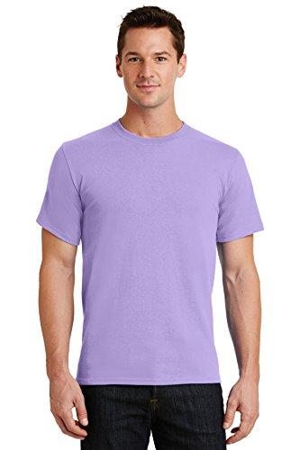Port & Company Men's Essential T Shirt M Lavender