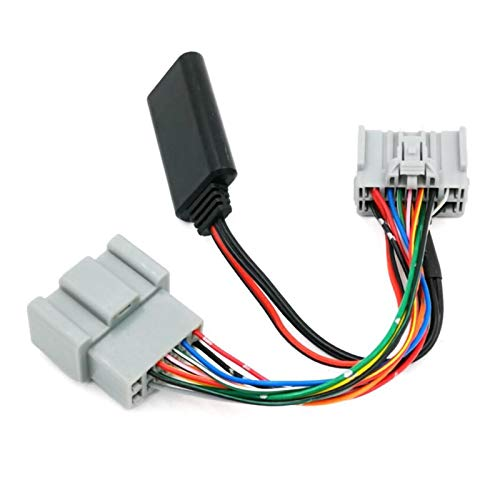 ZSYLOVE ZHANGSUYUAN Adaptador del Receptor de Bluetooth Adaptador Bluetooth Receptor de Audio del Coche AUX IN en Forma for el Volvo C30 C70 S40 S60 S70 S80 V40 V50 V70 XC70 XC90 (Color Name : ABS)