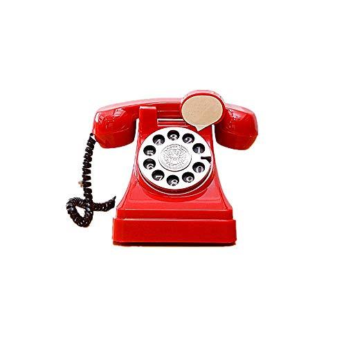 kabinga Cabina telefónica01 Dibujos Animados Infantil, Hucha Creativa de teléfono Retro, Ahorro de Monedas, Experiencia Divertida nostálgica,Rojo, Unisex-Adult, S