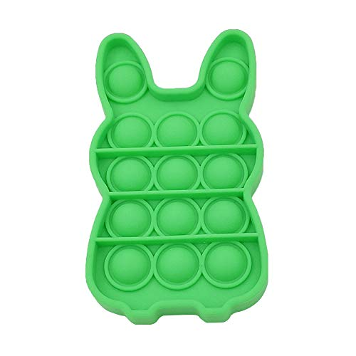 Push Pop It Bubble Sensory Fidget Spielzeug – Stressabbau-Spielzeug aus Silikon – Squeeze sensorisches...