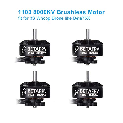 BETAFPV 4pcs 1103 Motor 8000KV Brushless Motors for Beta75X 3S Brushess Micro Quadcopter Brushless Whoop Drone