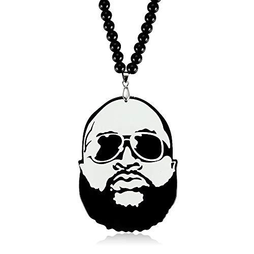 TUDUDU Colgante De Coche Larga Barba JDM Hip Hop B-Box