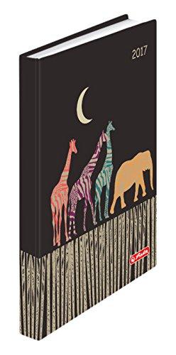 Herlitz 50006045 Buchkalender 2017 Rainbow Afrika, Minitimer, A6
