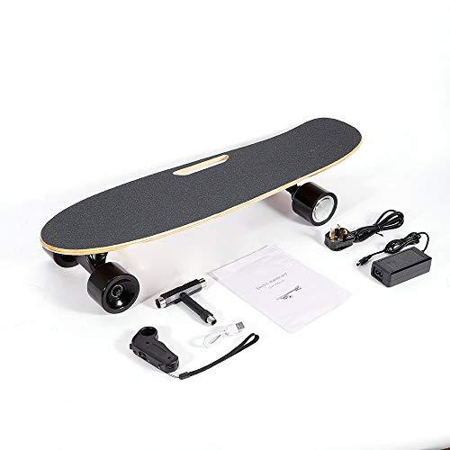 20km/h Monopatín Eléctrico Skateboards Longboard para Deportes Control remoto 350W Monopatín eléctrico