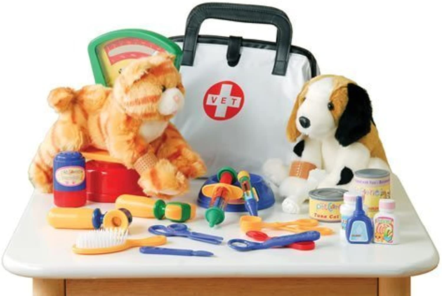 Play Vet Set - For Pretend Play - 30 Piece Set by ConstructivePlaythings