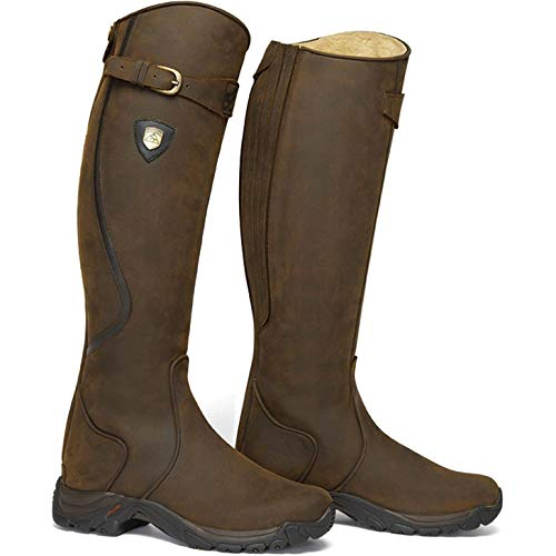 MOUNTAIN HORSE Unisex Winter Reitstiefel SNOWY RIVER braun, regular/wide, 41