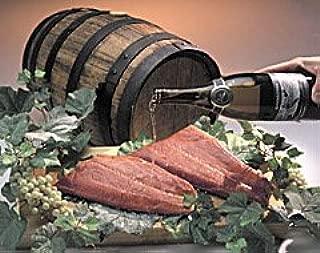 Wine Smoked Coho Salmon-1&1/4 pound fillet