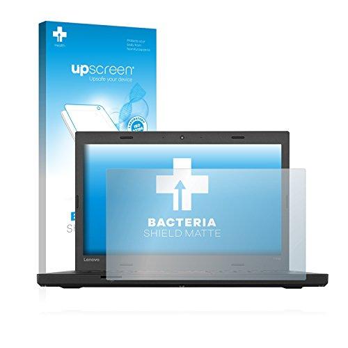 upscreen Antibakterielle Entspiegelungs-Schutzfolie kompatibel mit Lenovo ThinkPad T460p UltraBook - Anti-Reflex Bildschirmschutzfolie matt