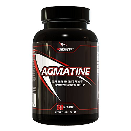 Agmatine by AI Sports Nutrition | 60 Count Bottle