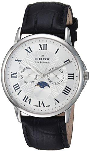 EDOX Reloj analógico para Hombre de Cuarzo Suizo 40002 3 AR
