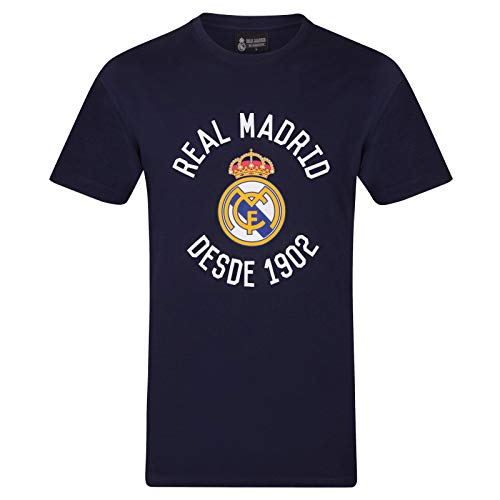 Real Madrid - Camiseta Oficial para Hombre - Serigrafiada - XL