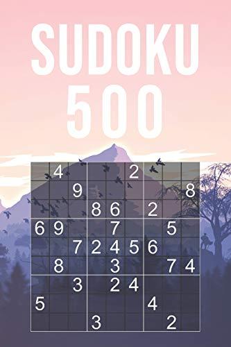 SUDOKU PARA ADULTOS - 500 PUZZLES: Dificultad Fácil | Un Libro Adictivo Con Soluciones | 9x9 Clásico | Juego De Lógica
