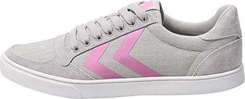 hummel Damen Slimmer Stadil HB Low Sneaker,Alloy, 36 EU