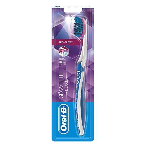 Oral-B Handzahnbürste 3D White Luxe Pro Flex Weich–Lot de 3