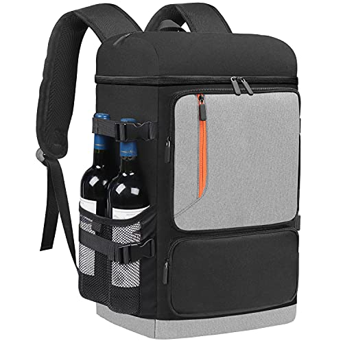 Insulated Cooler Backpack 58 Cans Large Capacity Backpack Cooler for Men Women,...