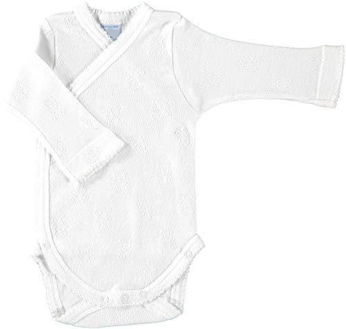 babidu Unisex Baby 1156ML Zugeschnitten, weiß, Für Frühgeburten