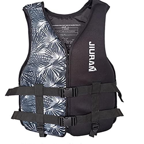 MOKBAY Schwimmweste,Erwachsenen Auftriebsweste Kinder Tauchausbildung Feststoff Rettungsweste leichte Schwimm Hilfe Licht Neopren Auftrieb 20-100 kg für Kinder/Erwachsene