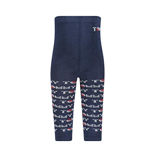 Tommy Hilfiger Baby-Boys All-Over-Print Legging (1 Pack) Tights, Tommy original, 86/92
