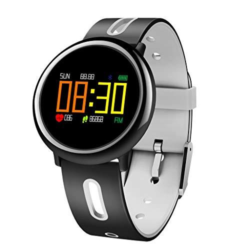 QKAGK Sportarmband met kleurenscherm Activity Tracker-armband met hartslagmeter waterdicht stappenteller dames herenhorloge voor Android iOS