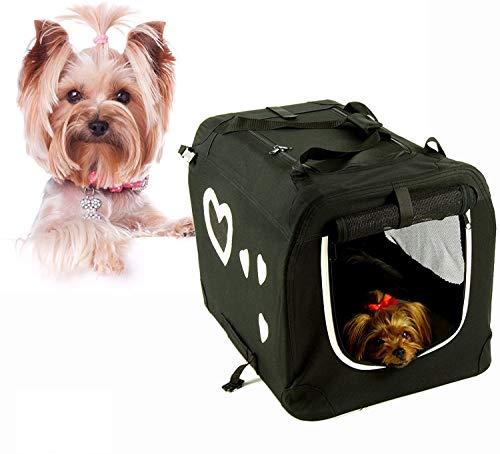 Valentina Valentti Cage de transport pliable pour chien Taille M Avec Cœurs M