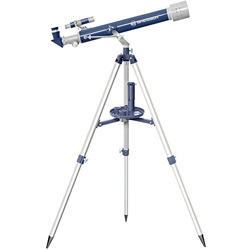 Bresser Junior 60/700 AZ Lensentelescoop met azimutal statief, led-zoeker, transportkoffer en andere accessoires