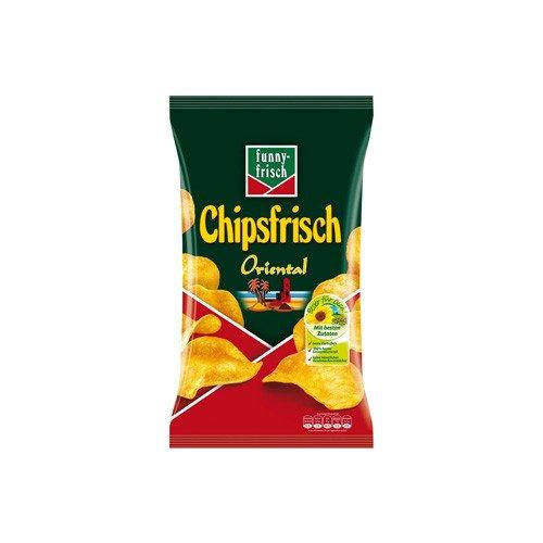 Funny-Frisch Chipsfrisch Oriental, 12er Pack (12 x 175 g Packung)
