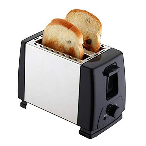 WOYAOY Tostadora automática Tostadora de 2 rebanadas, Accesorios de Cocina para tostadora automática, para Emparedado, Accesorio para Bollos, función de descongelación, 2200 vatios