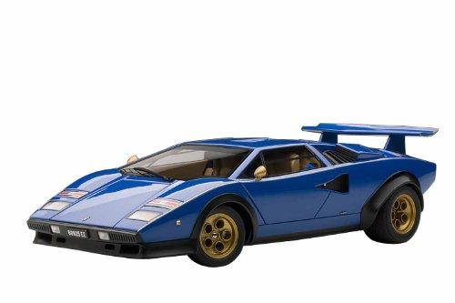 Lamborghini Countach LP500S Walter Wolf Edition - blau 1:18