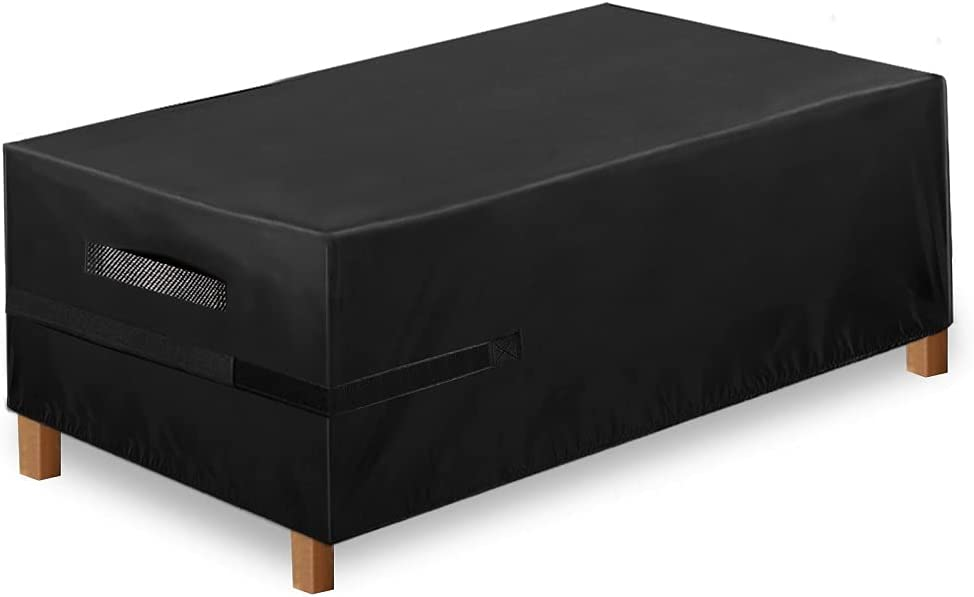 Funda para Muebles de Jardín Exterior, 180x120x74cm, Conjuntos de Muebles Cubierta Impermeable, Paño de Oxford 600D, para Sofa de Jardin, al Aire Libre, Patio, Funda para Sofa de Esquina